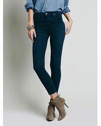 Free People | Blue Reign High Rise | Lyst