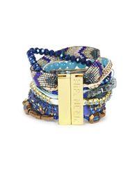 Hipanema | Blue Embellished Cuff | Lyst