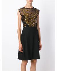 Amen - Black Sequin Embellished Body - Lyst