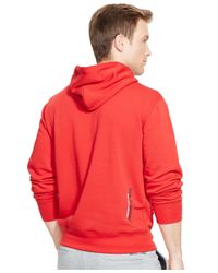 Polo Ralph Lauren | Red Polo Sport Fleece Pullover Hoodie for Men | Lyst