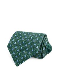 Thomas Pink - Green Bird On Branch Classic Tie for Men - Lyst