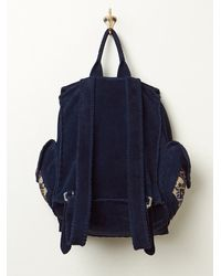 Free People | Blue Harlow Backpack | Lyst