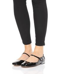 Marc By Marc Jacobs - Black Brooke Mary Jane Flats - Lyst
