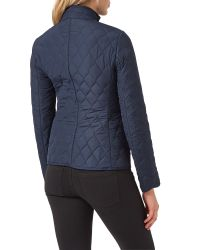 Aquascutum - Blue Stoney Quilted Jacket - Lyst