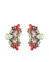 Anton Heunis | Multicolor Katrina Wing-shape Earrings | Lyst