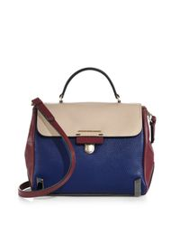 Marc By Marc Jacobs - Blue Sheltered Island Colorblock Tophandle Satchel - Lyst