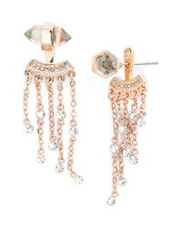 Rebecca Minkoff | Metallic Tassel Ear Jackets | Lyst