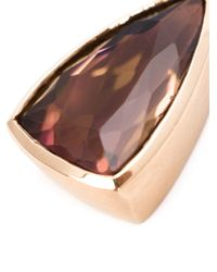 Irene Neuwirth | Metallic 18kt Rose Gold And Pink Tourmaline Pendant | Lyst