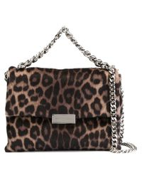 Stella McCartney - Brown 'beckett' Leopard Shoulder Bag - Lyst