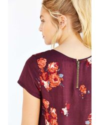 Silence + Noise - Purple Witchy T-shirt Dress - Lyst
