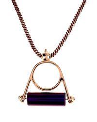Bex Rox - Purple Necklace - Lyst