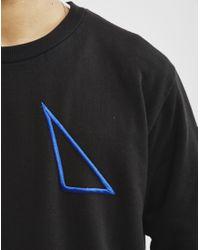 Nicce London - Contour Sweatshirt Black for Men - Lyst