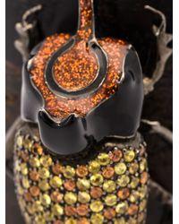 M.c.l  Matthew Campbell Laurenza | Black Beetle Appliqué Cuff | Lyst