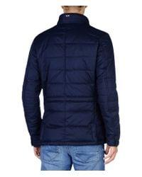 Napapijri | Blue City Quilted Jacket  for Men | Lyst