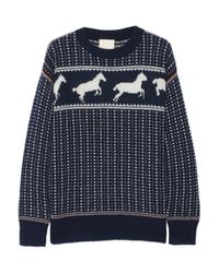 Band of Outsiders | Black Jumper | Lyst