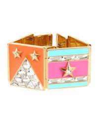Lanvin   Multicolor Bracelet   Lyst