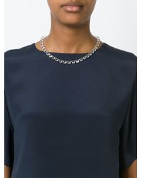 Ca&Lou - Metallic 'debutante' Necklace - Lyst