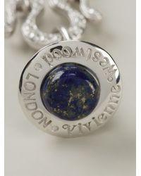Vivienne Westwood | Blue Orb Pendant Necklace | Lyst