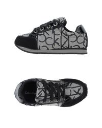 Calvin Klein - Black Low-tops & Trainers - Lyst