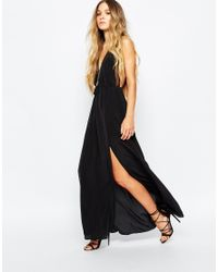 Jen's Pirate Booty | Black Jen's Pirate Booty Evening Star Maxi Dress In Silk | Lyst