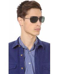 Ray-Ban   Green Lightweight Aviator Polarized Sunglasses for Men   Lyst