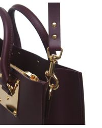 Sophie Hulme | Purple Albion Large Square Tote Bag | Lyst