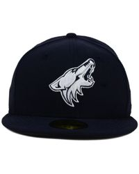 KTZ - Blue Arizona Coyotes C-dub 59fifty Cap for Men - Lyst