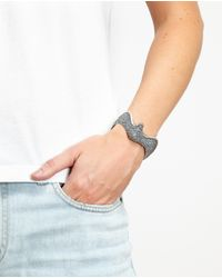 Saint Laurent | Metallic Silver Eagle Cuff for Men | Lyst