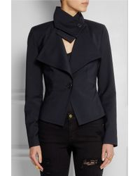 Vivienne Westwood Anglomania - Blue Whisper Cropped Twill Blazer - Lyst