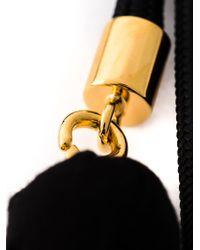 Marni - Black Rope Balls Necklace - Lyst
