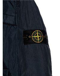 Stone Island - Blue Soft Shell R' Kids Padded Jacket for Men - Lyst