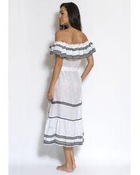 f8471351d5 Lisa Marie Fernandez. Women s Mira Ruffle Button Down Dress