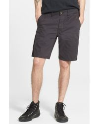 Rag & Bone | Gray Standard Issue Shorts for Men | Lyst