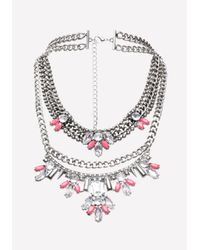 Bebe - Multicolor Choker & Statement Necklace - Lyst