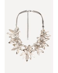 Bebe - Multicolor Chandelier Necklace - Lyst