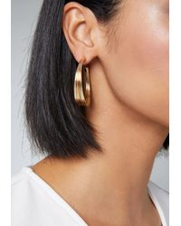 Bebe - Multicolor Multi-wire Hoop Earrings - Lyst