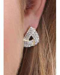 Bebe - Multicolor Mix Geo Stud Earring Set - Lyst