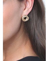 Bebe - Metallic Versatile Stud Earring Set - Lyst
