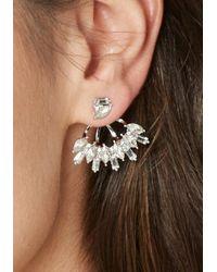 Bebe - Multicolor Cz Crystal Ear Jackets - Lyst