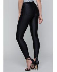 Bebe - Black Vicky Stretch Pants - Lyst