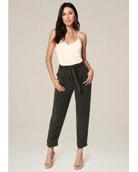 Bebe - Multicolor Cargo Pocket Pants - Lyst