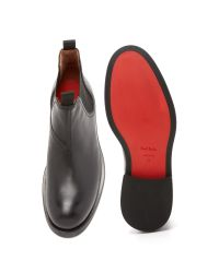 Paul Smith Black Vostel Boots for men