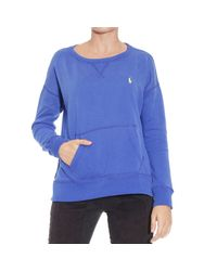 Polo Ralph Lauren | Blue Sweater | Lyst