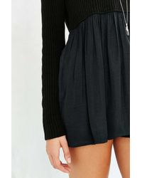 Kimchi Blue - Black Babydoll Sweater - Lyst