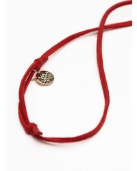 Free People - Red The Giving Keys Womens Giving Keys Necklace - Lyst