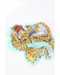 Swash London - Multicolor Double Chiffon Scarf - Lyst