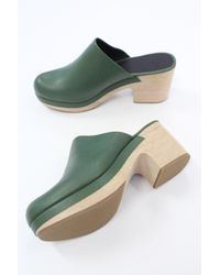 Rachel Comey - Green Bose Clog Polished Juniper - Lyst