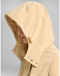 Belstaff - Natural Wharf Four Pocket Parka In Beige Water Resistant Nylon - Lyst