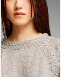 Belstaff - Gray Wen Sweater - Lyst