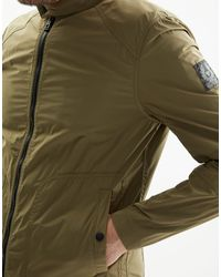 Belstaff - Green Ravenstone Blouson Jacket for Men - Lyst